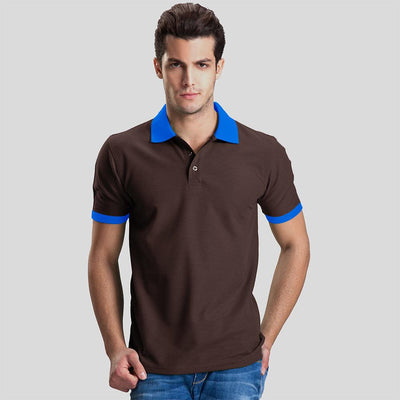 Polo Republica Abrud Polo Shirt Men's Polo Shirt Polo Republica Chocolate Blue S