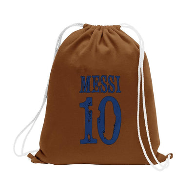 Polo Republica Messi Lovers Drawstring Bag Drawstring Bag Polo Republica Brown Blue