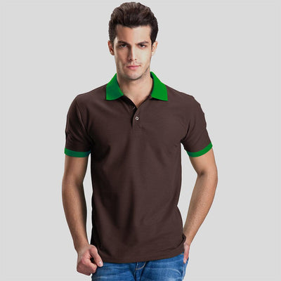 Polo Republica Abrud Polo Shirt Men's Polo Shirt Polo Republica Chocolate Green S