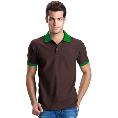 Polo Republica Abrud Polo Shirt Men's Polo Shirt Polo Republica Brown Green S