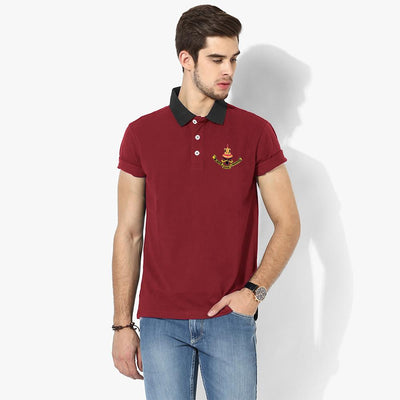 Polo Republica Selangor Polo Shirt Men's Polo Shirt Polo Republica Burgundy Black S
