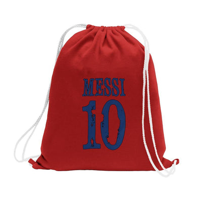 Polo Republica Messi Lovers Drawstring Bag Drawstring Bag Polo Republica Burgundy Blue