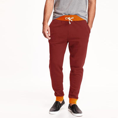 Polo Republica Bremen Men's Sweat Pants Men's Sweat Pants Polo Republica Burgundy Orange S