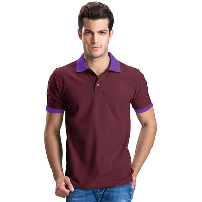 Polo Republica Abrud Polo Shirt Men's Polo Shirt Polo Republica Burgundy Purple S