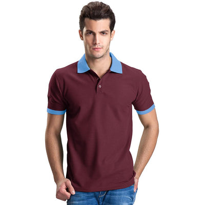 Polo Republica Abrud Polo Shirt Men's Polo Shirt Polo Republica Burgundy Sky S