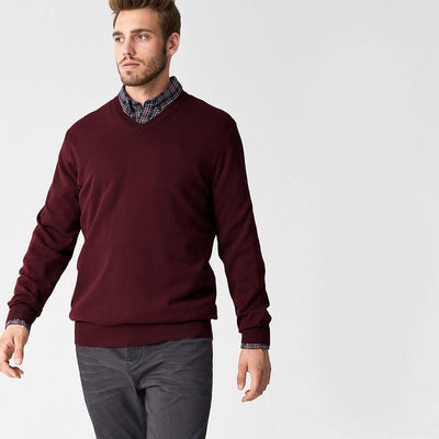 Polo Republica Nobitu V-Neck Sweat Shirt. Men's Sweat Shirt Polo Republica Burgundy M