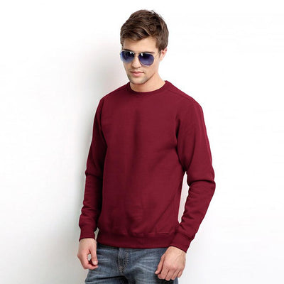 PRT Roma B300 B Quality Sweat Shirt B Quality Image Burgundy 3XL