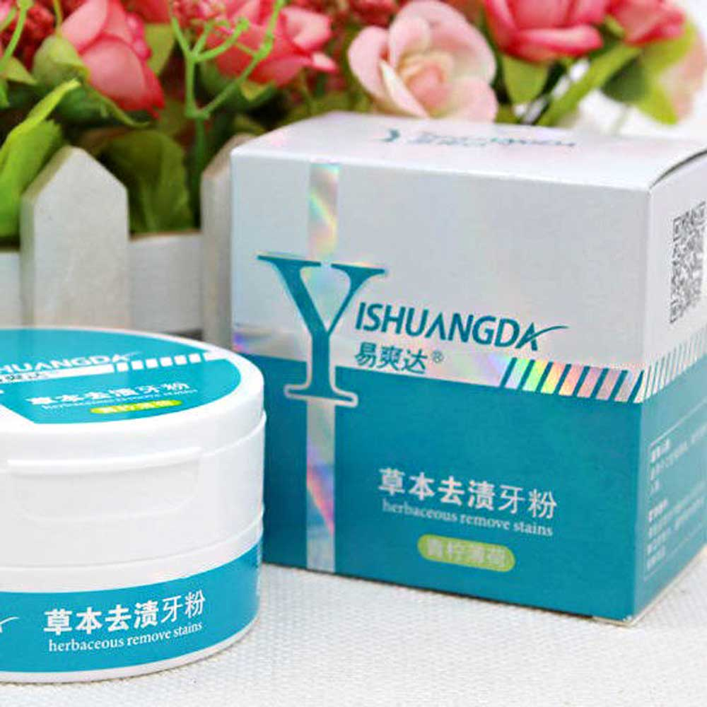 Yishuangda Jasper Herbal Whitening Toothpaste General Accessories Sunshine China