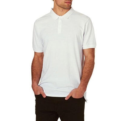 DCK Zeelami Short Sleeve Polo Shirt Men's Polo Shirt Image White M