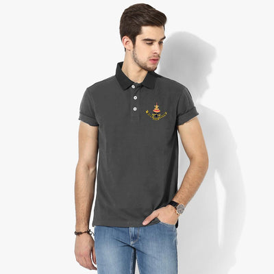Polo Republica Selangor Polo Shirt Men's Polo Shirt Polo Republica Charcoal Black S