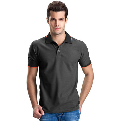 Polo Republica Abrud Polo Shirt Men's Polo Shirt Polo Republica Charcoal Black S