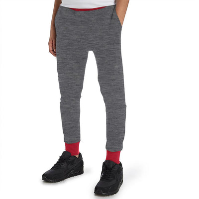 Polo Republica Kids Rafinta Classic winter Sweat Pants Boy's Sweat Pants Polo Republica Charcoal Red 11-12 Years