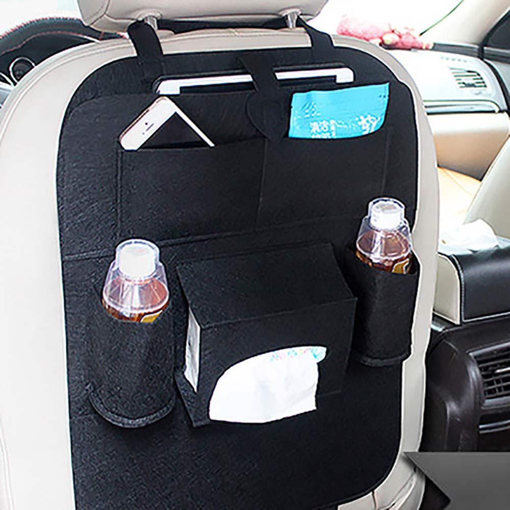 Multi-Pocket Car Seat Back Organiser General Accessories Sunshine China Charcoal