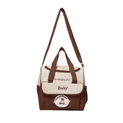 Super Light Love Forever Supporter Mother Messenger Bag Women's Accessories MB Traders Chocolate