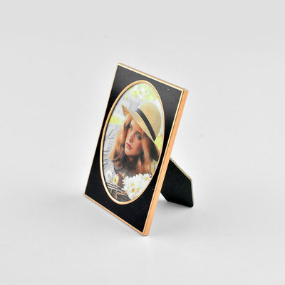 Black N Gold Medium Size Photo Frame Home Decor CPUQ D13