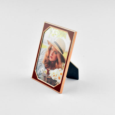 Black N Gold Medium Size Photo Frame Home Decor CPUQ D14