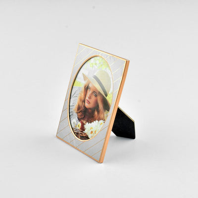 Black N Gold Medium Size Photo Frame Home Decor CPUQ D15