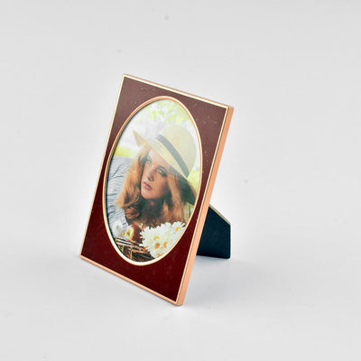 Black N Gold Medium Size Photo Frame Home Decor CPUQ D1