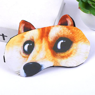 Animal Printed 3D Sleeping Mask Eyewear Sunshine China D4