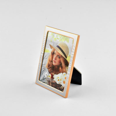 Black N Gold Medium Size Photo Frame Home Decor CPUQ D4