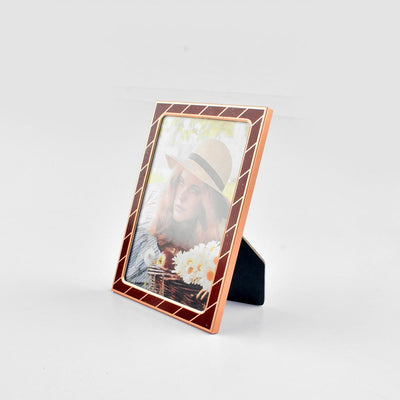 Black N Gold Medium Size Photo Frame Home Decor CPUQ D7