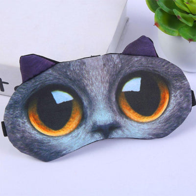 Animal Printed 3D Sleeping Mask Eyewear Sunshine China D8