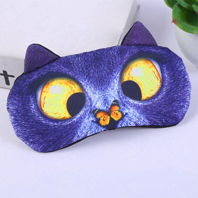 Animal Printed 3D Sleeping Mask Eyewear Sunshine China D9