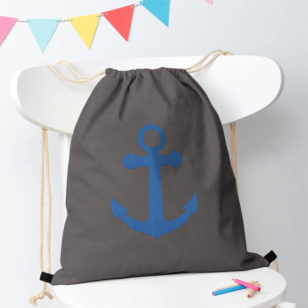 Polo Republica Ship Langar Drawstring Bag Drawstring Bag Polo Republica Dark Graphite