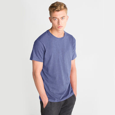 LE Foldpal Short Sleeve Tee Shirt Men's Tee Shirt Image Dark Blue M
