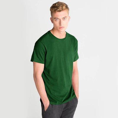 LE Bokrid Short Sleeve B Quality Tee Shirt B Quality Image Dark Green XL