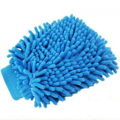 Chenille Cleaning Scrub Car Rag Glove General Accessories Sunshine China Blue