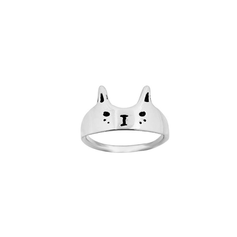 Cat Face Style Finger Ring