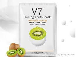 V7 Toning Youth Vitamins Essence Face Mask Health & Beauty Sunshine China Kiwi