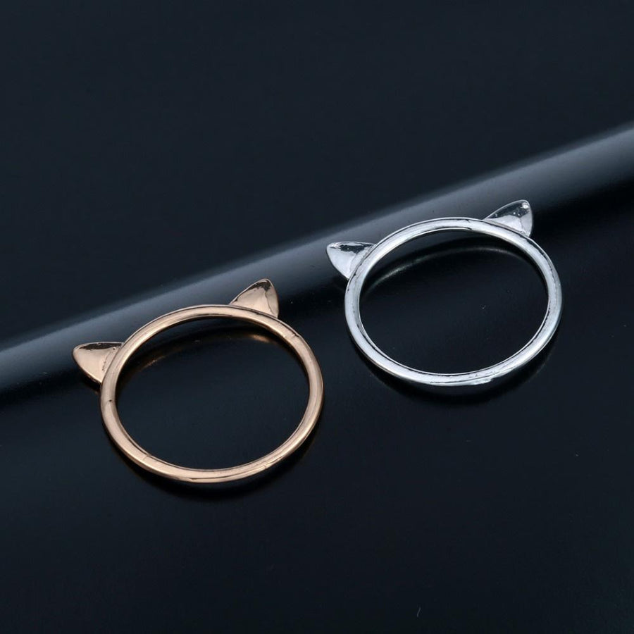 Cat Ear Style Ring