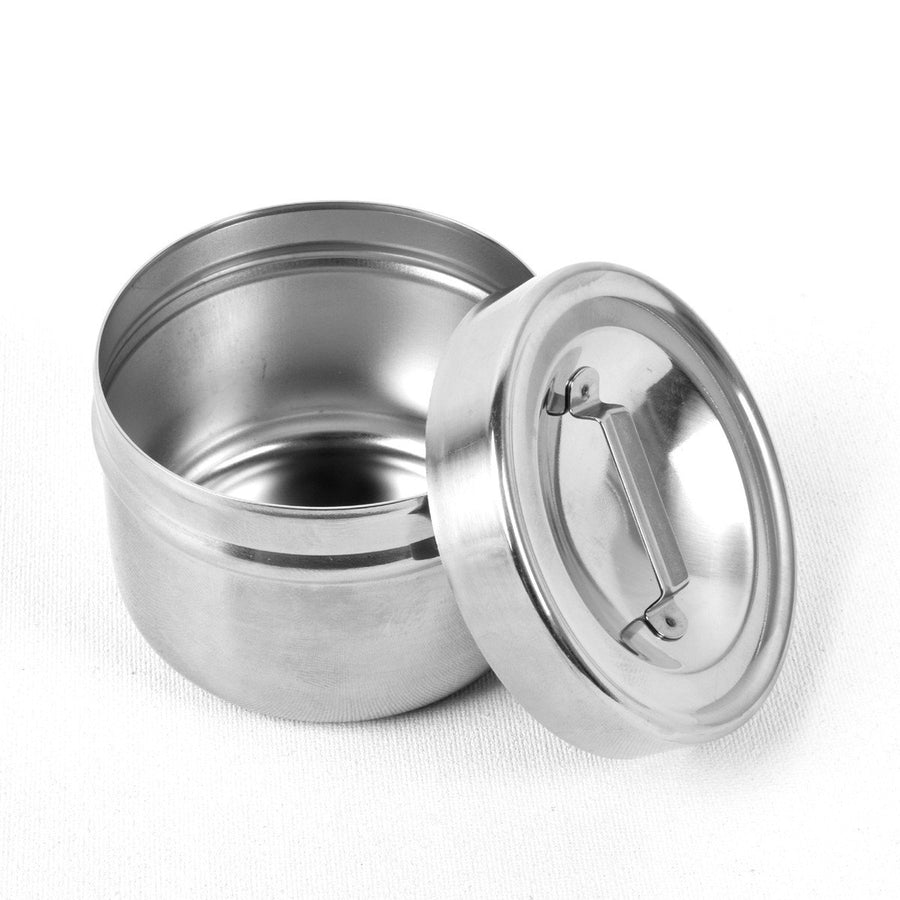 High Quality 60ml Stainless Steel Spice / Dip Jar - ExportLeftovers.com