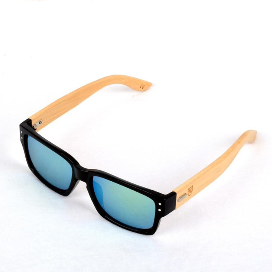 Polo Republica (1034-M3) Black Xulu Bamboo Temple Sunglasses - ExportLeftovers.com