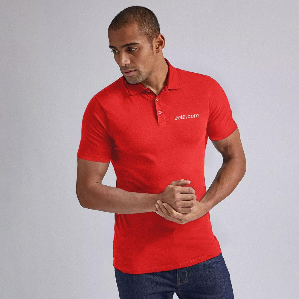 Men's JMN Short Sleeve Polo Shirt