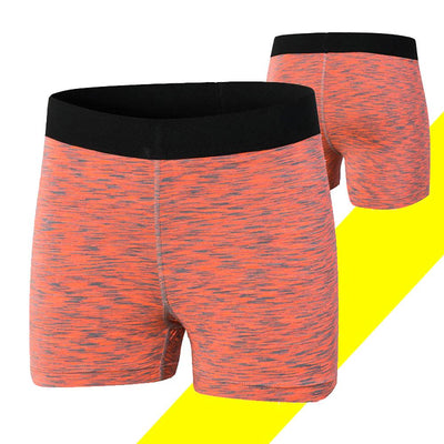 MZ Quick-drying Fitness Shorts Women's lingerie Sunshine China Orange L