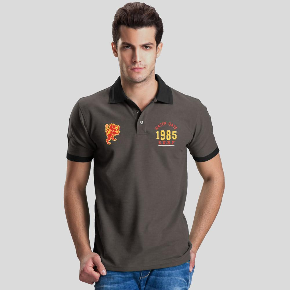 Polo Republica Leo Water Gate 1985 Short Sleeve Polo Shirt Men's Polo Shirt Polo Republica