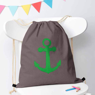 Polo Republica Ship Langar Drawstring Bag Drawstring Bag Polo Republica Graphite Green