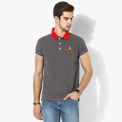 Polo Republica Selangor Polo Shirt Men's Polo Shirt Polo Republica Graphite Red S