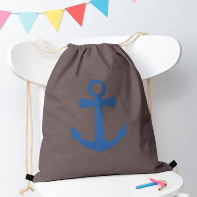 Polo Republica Ship Langar Drawstring Bag Drawstring Bag Polo Republica Graphite