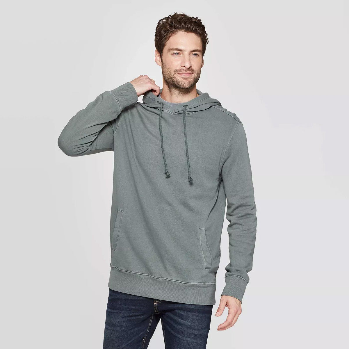 CR Men's 10-16A20 Terry Pullover Hoodie Men's Pullover Hoodie SRK Graphite XS