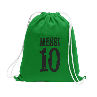Polo Republica Messi Lovers Drawstring Bag Drawstring Bag Polo Republica Green Black
