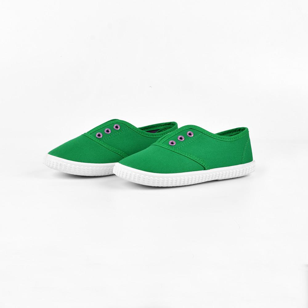 Opoee Kids Slip Ons Style Daifen Canvas Shoes Boy's Shoes Sunshine China Green EUR 20