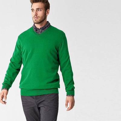 Polo Republica Nobitu V-Neck Sweat Shirt. Men's Sweat Shirt Polo Republica Green XL
