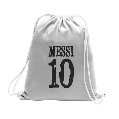 Polo Republica Messi Lovers Drawstring Bag Drawstring Bag Polo Republica Heather Grey Black