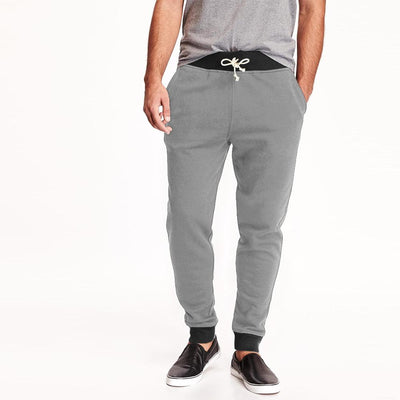 Polo Republica Bremen Men's Sweat Pants Men's Sweat Pants Polo Republica Heather Grey Black S