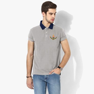 Polo Republica Selangor Polo Shirt Men's Polo Shirt Polo Republica Silver Marl Navy S