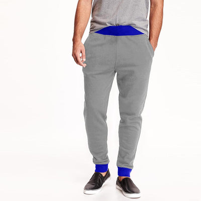 Polo Republica Men's Kophinou Sweat Pants Men's Sweat Pants Polo Republica Heather Grey Royal S